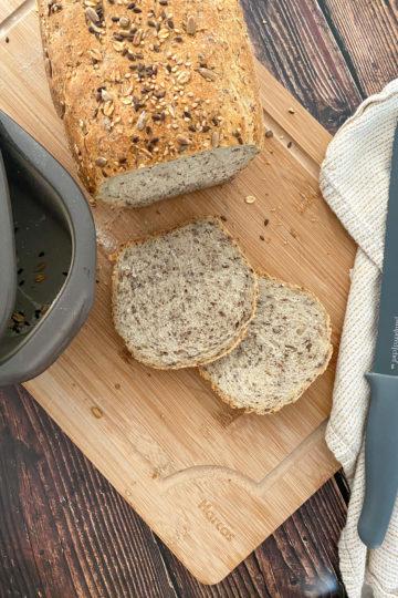Ines Wuttke kocht mit Pampered Chef Kefir-Kruste.