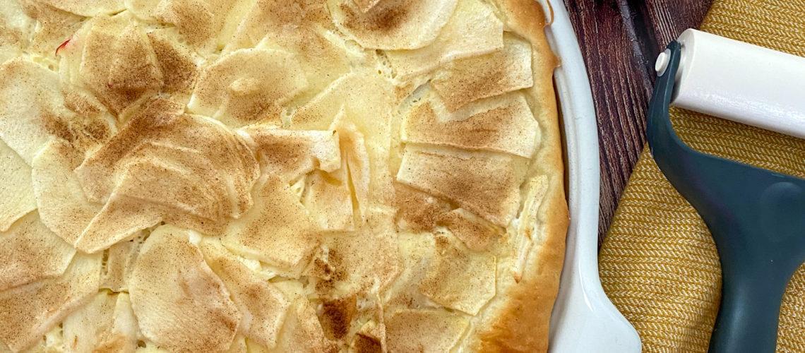 Ines Wuttke kocht mit Pampered Chef Apfelblooz.