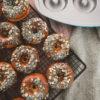 Ines Wuttke kocht mit Pampered Chef Vanille-Donuts Donutform