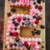 Ines Wuttke kocht mit Pampered Chef Numbercake in der Kuchenform für Nummern und Buchstaben