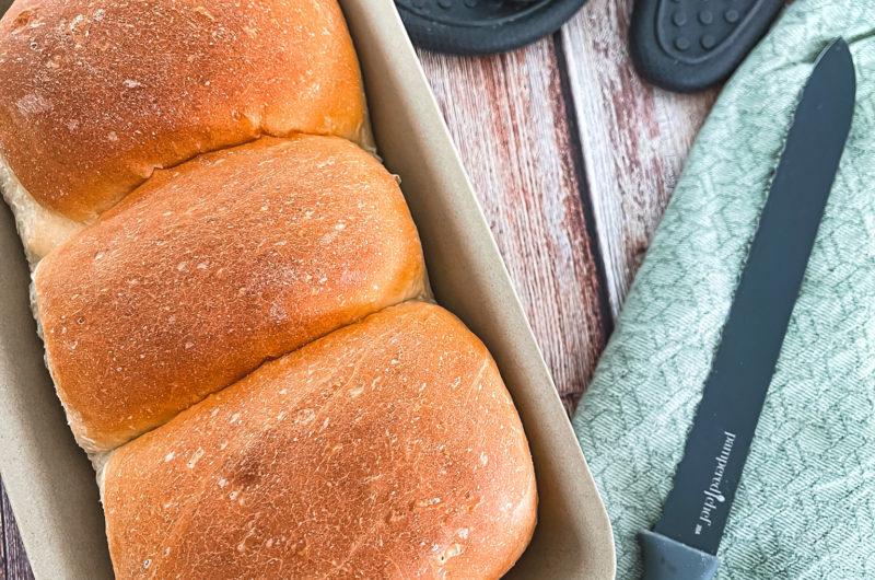 Dinkel-Butter-Toast aus dem Zauberkasten