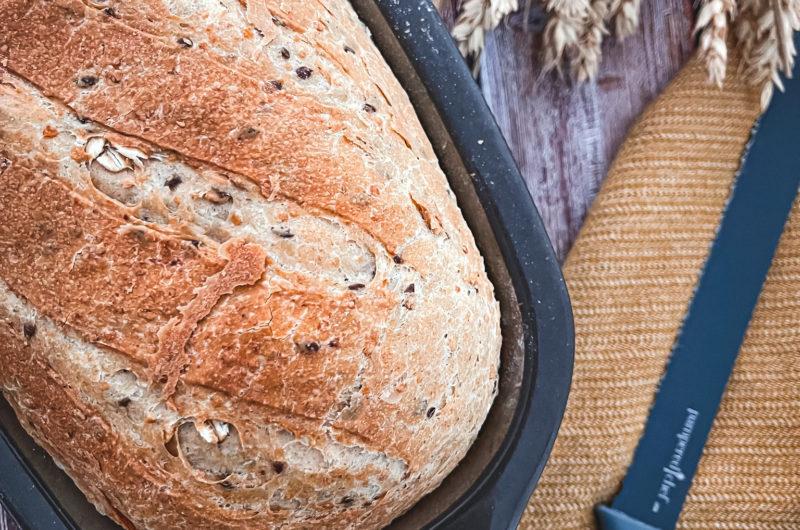 Veganes Dinkel-Hafer-Brot aus dem kleinen Zaubermeister (Lily)
